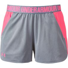 Under Armour Play Up Funktionsshorts Damen true gray heather-brilliance-brilliance