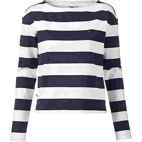 Tommy Jeans Sweatshirt Damen bright white-navy blazer