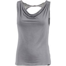 Khujo Tanktop Damen washed grey