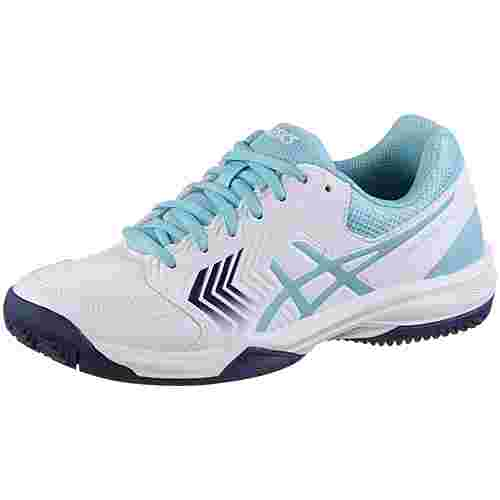 ASICS GEL-DEDICATE 5 Tennisschuhe Damen white-porcelain blue