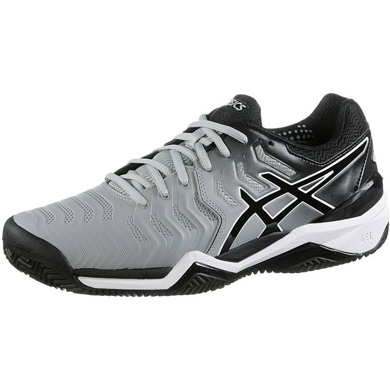 new product 32b7b 10dbb ASICSGELRESOLUTION 7 CLAY TennisschuheHerren mid greyblau
