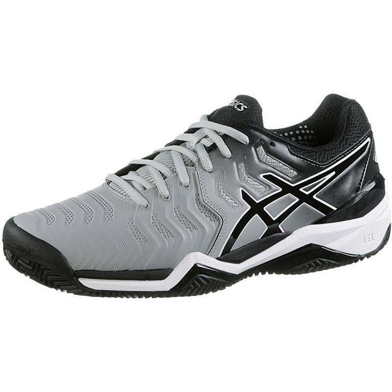 sports shoes e8edb 2f89d ASICSGELRESOLUTION 7 CLAY TennisschuheHerren mid greyblau Nike Free Flyknit  3.0 Herren Woven Royal Blau Weiß Running Schuhe ...