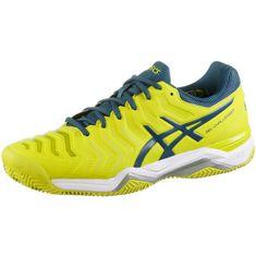 ASICS GEL-CHALLENGER 11 CLAY Tennisschuhe Herren sulpur spring-ink blue