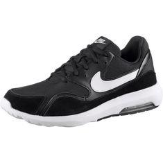 Nike AIR MAX NOSTALGIC Sneaker Herren black-white