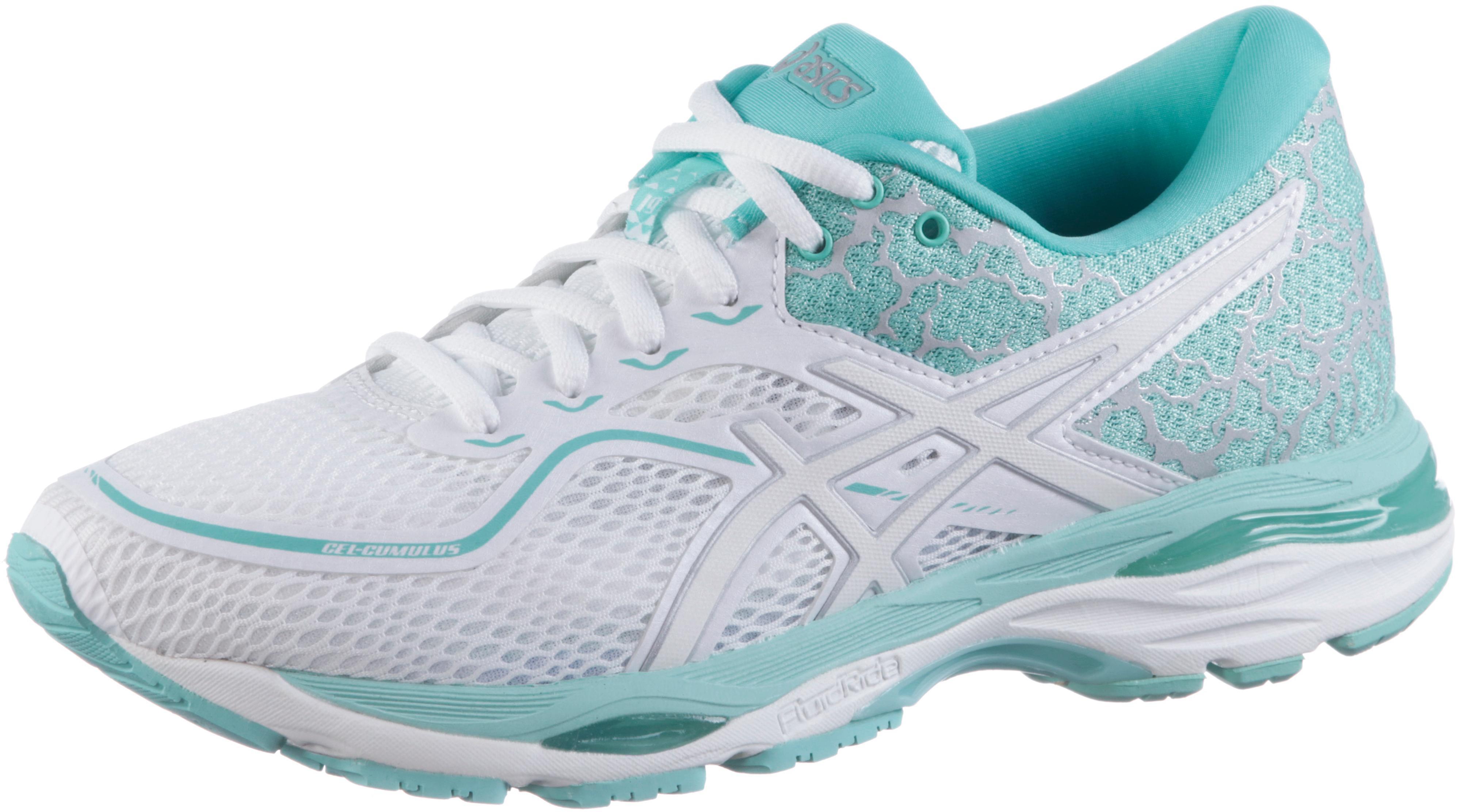 ASICS GEL-CUMULUS 19 LITE-SHOW Laufschuhe Damen white-silver-aruba blue im  Online Shop von SportScheck kaufen