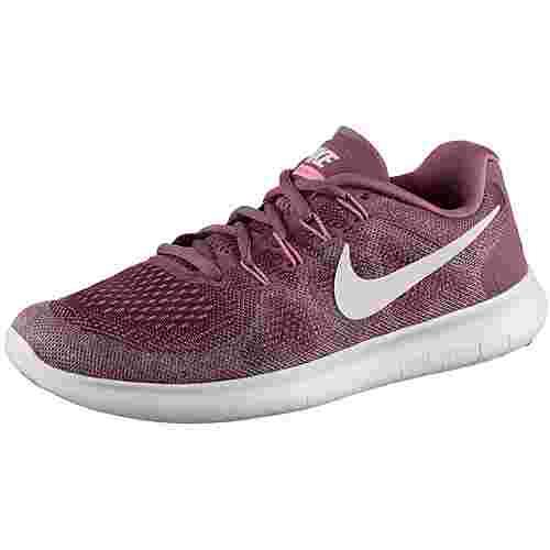 Nike Free RN 2 Laufschuhe Damen vintage-wine-off-white-elemental-rose