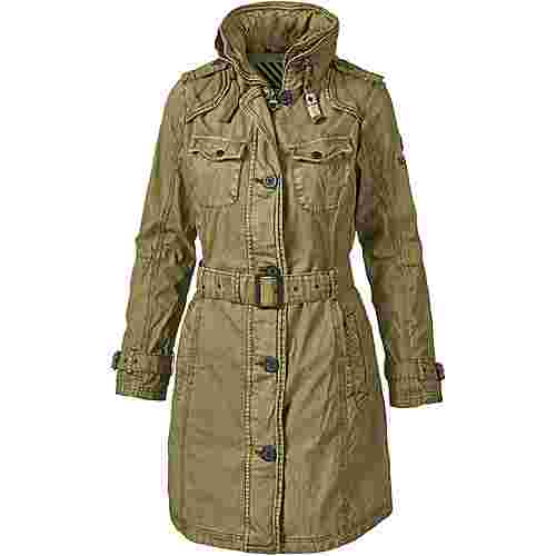Khujo Parka Damen yellow olive