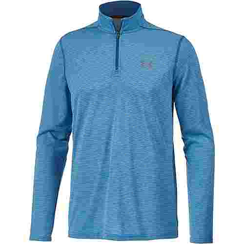 Under Armour HeatGear Threadborne Fitted Funktionsshirt Herren moroccan-blue-graphite