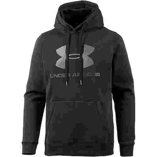 Under Armour ColdGear Rival Funktionssweatshirt Herren black-stealth-gray-graphite