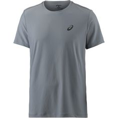 ASICS Essential Laufshirt Herren stone-grey