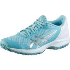 ASICS GEL Court Speed CLAY Tennisschuhe Damen porcelain blue-silver