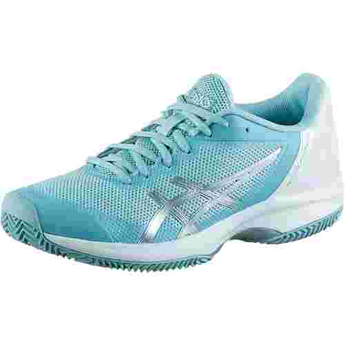 ASICS GEL Court Speed CLAY Tennisschuhe Damen porcelain blue-silver