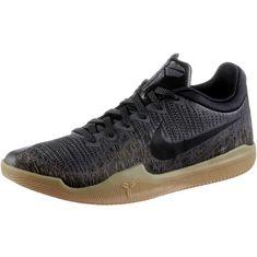 Nike Mamba Rage Sneaker Herren dark grey-black