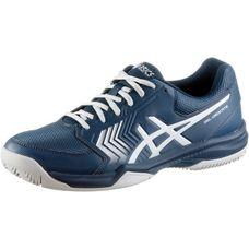 ASICS GEL-Dedicate 5 CLAY Tennisschuhe Herren dark blue-silber