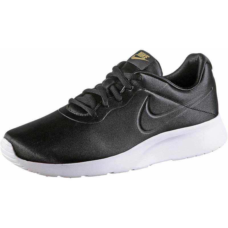 sports shoes d1a8a 74f96 Nike TANJUN Sneaker Damen black-metallic gold