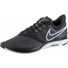 Nike ZOOM STRIKE Laufschuhe Herren black-white-dark-grey-anthracite