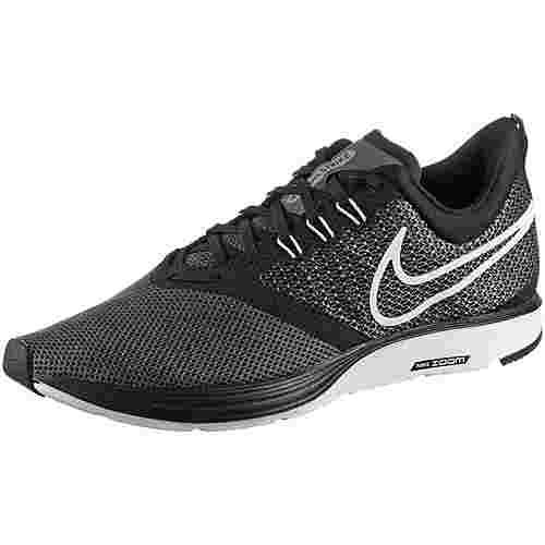 Nike ZOOM STRIKE Laufschuhe Herren black-white-dark-grey-anthracite