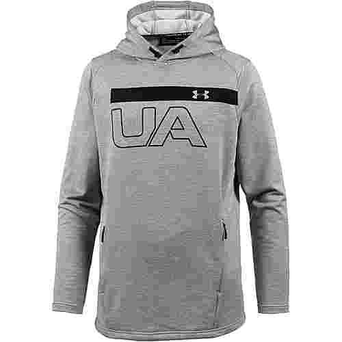 Under Armour ColdGear Tech Terry Graphic Funktionssweatshirt Herren steel-black