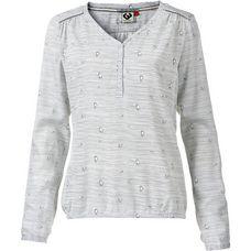 Ragwear CATLIN V-Langarmshirt Damen white