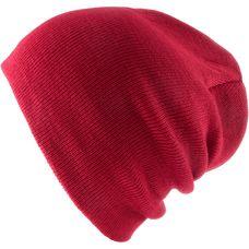 MasterDis Basic Flap Beanie red
