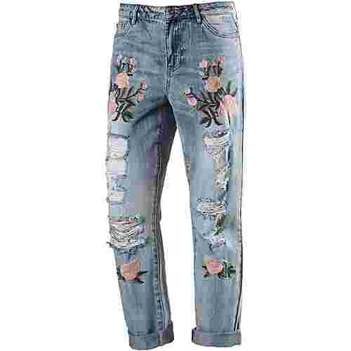 Only Boyfriend Jeans Damen light-blue-denim