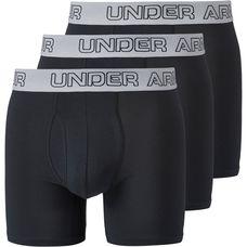 Under Armour Charged Cotton Boxer Herren black-black-black
