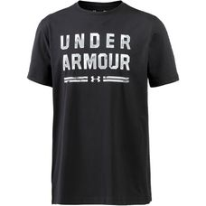 Under Armour Classic Script Funktionsshirt Herren black