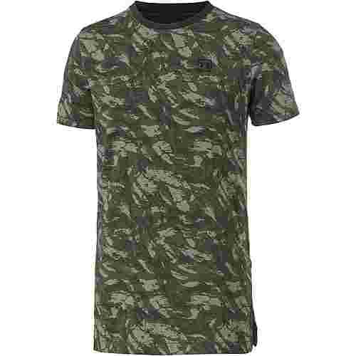 Under Armour T-Shirt Herren moss green-black
