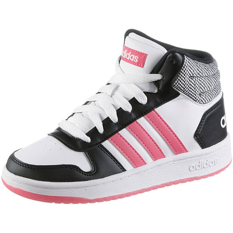 the latest 0e332 6fc46 adidasHOOPS SneakerKinder core black