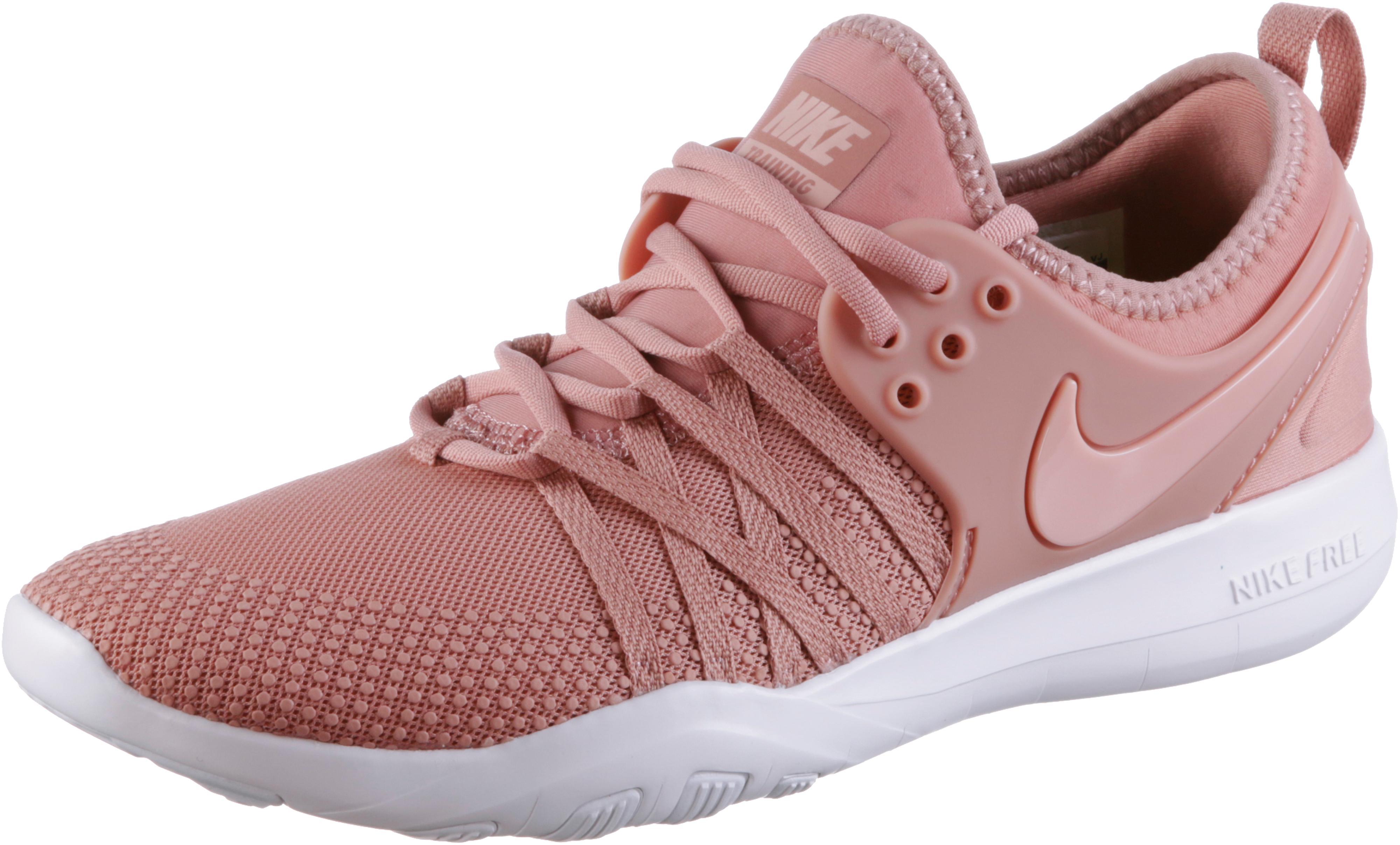 Nike Free Trainer 7 Fitnessschuhe Damen rust pink-coral stardust-white im  Online Shop von SportScheck kaufen
