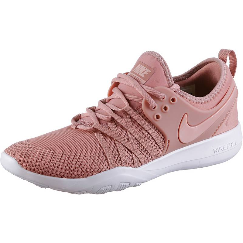 1834e2ae50 ... promo code for nike free trainer 7 fitnessschuhe damen rust pink coral  stardust white ae446 2c356 ...