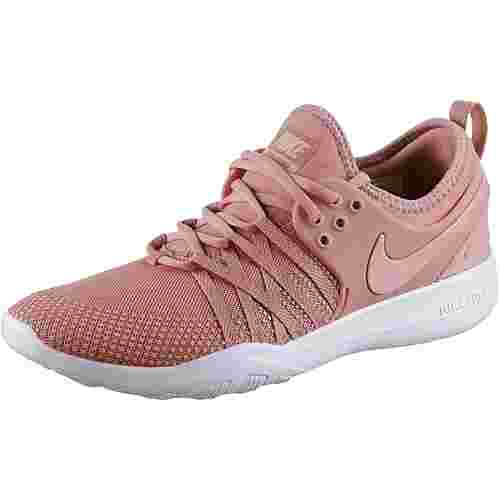 Nike Free Trainer 7 Fitnessschuhe Damen rust pink-coral stardust-white