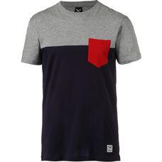 iriedaily T-Shirt Herren blue red
