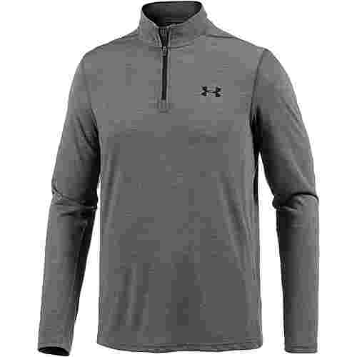 Under Armour HeatGear Threadborne Fitted Funktionsshirt Herren carbon-heather-black