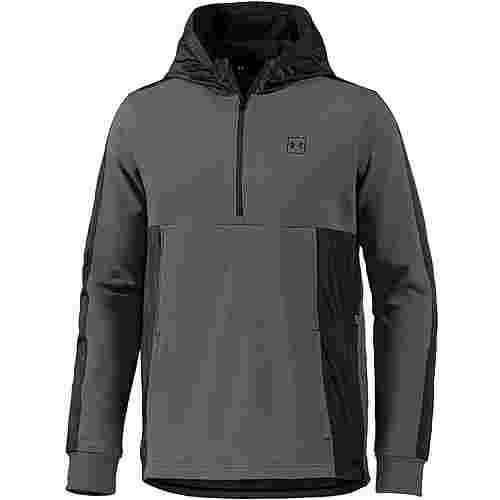 Under Armour Threadborne Hoodie Herren artillery-green-black