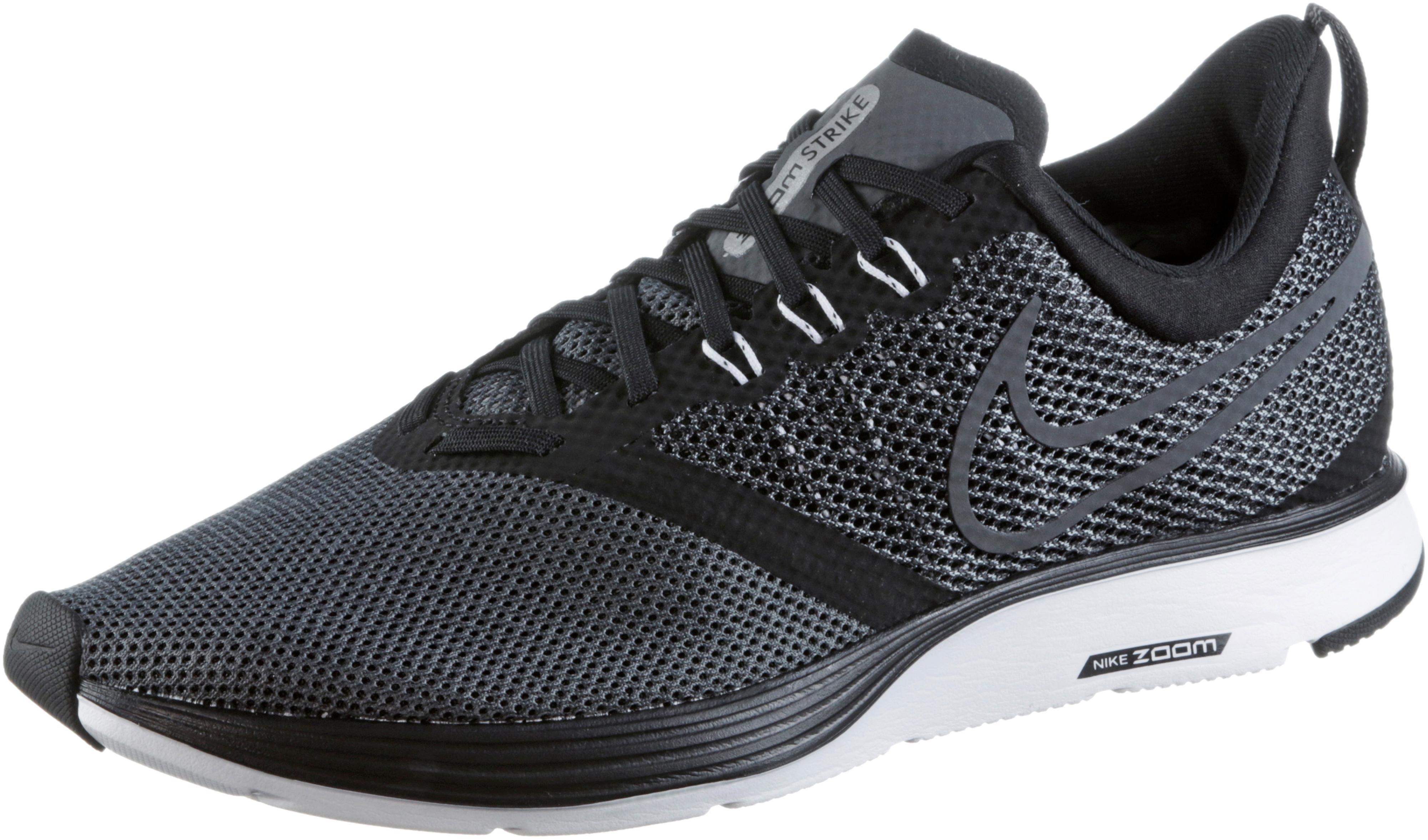 Nike Nike Nike ZOOM STRIKE Laufschuhe Herren schwarz Weiß