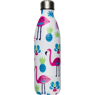 360° degrees Soda Isolierflasche flamingo