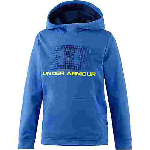 Under Armour French Terry Hoody Funktionssweatshirt Kinder mediterranean