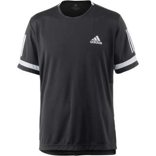 adidas CLUB 3STR TEE Tennisshirt Herren black-white