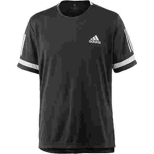 adidas CLUB 3STR TEE Tennisshirt Herren black-white