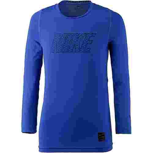 Nike Funktionsshirt Kinder hyper-royal