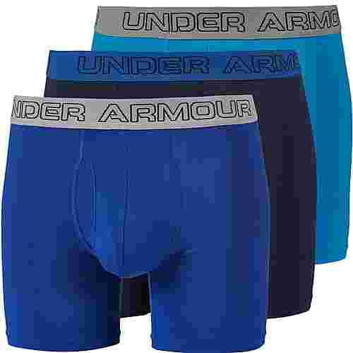 Under Armour Charged Cotton Boxer Herren brilliant-blue-royal-midnight-navy