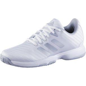 adidas barricade court w Tennisschuhe Damen white-matte silvergrey