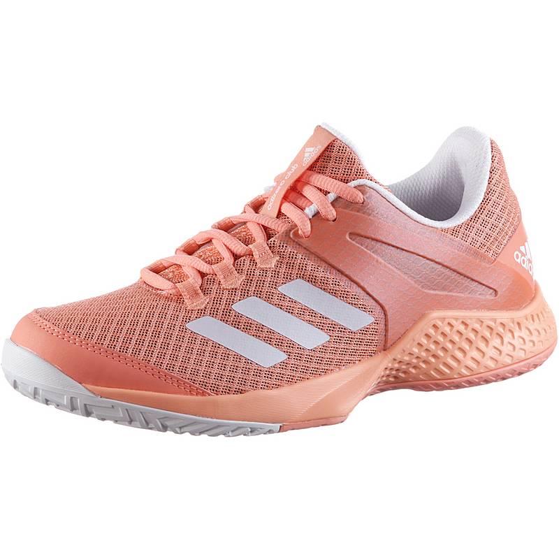 the latest 006ac 9eebb adidas adizero club w Tennisschuhe Damen chalk coral