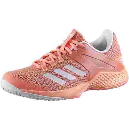adidas adizero club w Tennisschuhe Damen chalk coral