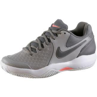 Nike AIR ZOOM RESISTANCE CLY Tennisschuhe Damen atmosphere grey-gunsmoke