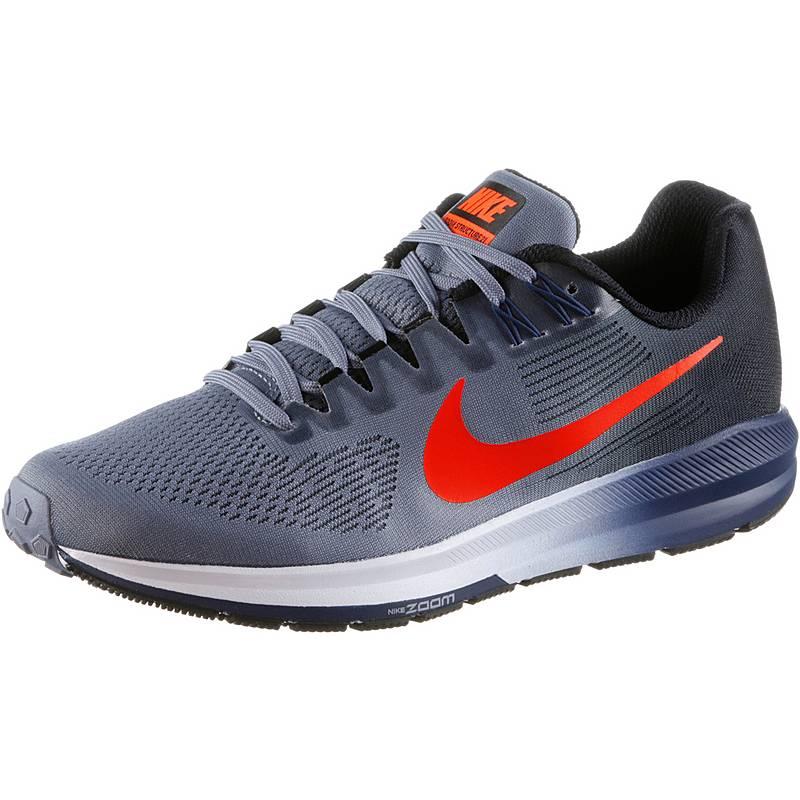 online store 49709 265e7 ... Nike AIR ZOOM STRUCTURE 21 Laufschuhe Herren  dark-sky-blue-total-crimson ...