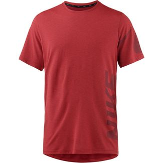 Nike Breathe Dry Funktionsshirt Herren gym-red-habanero-red-black