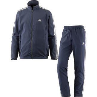 adidas Woven Light TS Trainingsanzug Herren trace blue f17-white