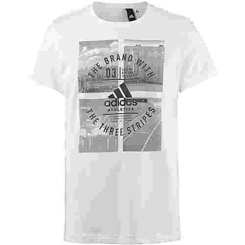 adidas T-Shirt Herren white